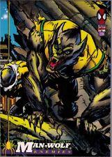 1994 Fleer Marvel Cards The Amazing Spider-Man # 42 Man-Wolf
