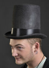Black Victorian Stovepipe Top Hat