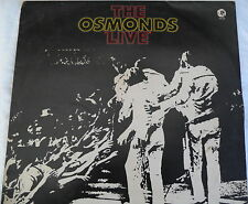 The Osmonds -The Osmonds Live - MGM 2315 117 SUPER