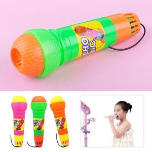 Plastic Microphone Mic Karaoke Singing Funny Music Toy for Kids Boy Girl Gift ti