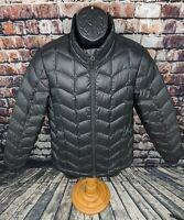 MARMOT Down Fill Puffer Jacket Coat Womens Size Medium Black Winter Ski Packable
