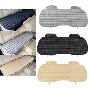 Car Seat Cover Protector Universal Rear Seats Cushion Warm Plush Car Accessories
