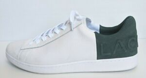 Lacoste Carnaby 419 2 EVO Green White Lace Up Leather Sneakers Size - UK10/ US11