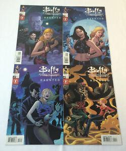 Dark Horse BUFFY THE VAMPIRE SLAYER THE HAUNTED comics #1 2 3 4 ~ FULL SET