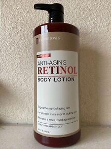 Joanne Jones Anti-Aging Retinol Body Lotion, 32 fl oz / 960 ml