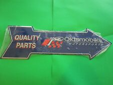 tin metal decor gas oil dealer garage repair shop advertising oldsmobile m618