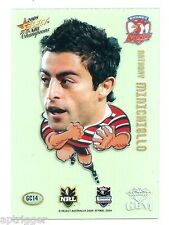 2008 Select NRL Champions Superstar Acetate Gem (GC 14) Anthony MINICHIELLO