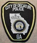 GA City of Decatur Georgia Police Patch