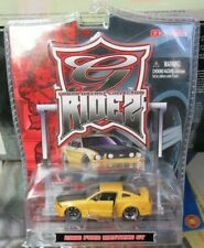 Maisto G Ridez 2006 Ford Mustang GT 06 Yellow S197 Muscle Car Custom RARE 1:64