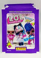 L.O.L. LOL SURPRISE FASHION FUN Sticker Card 50 bustine figurine Panini box P...
