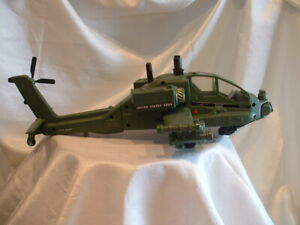 Trendmasters 1998 Godzilla Apache Attack Copter Helicopter