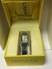 Closeout! Invicta Women's Signature Collection Stainless Leather Band Model 7126