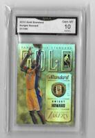 """2012 Dwight Howard """" Gold Standard """" x/199 Gem Mint 10 Card"""
