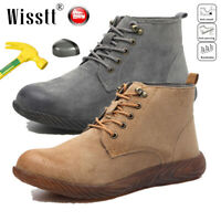 Mens Lightweight Indestructible Steel Toe Cap Safety Boots Breathable Work Shoes