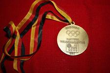 MedailleOlympiasieger Franz Keller 1968.der Skizunft Korb z.Volkswandertag 1987