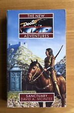 Doctor Who Sanctuary Virgin New Adventures book  in excellent condition