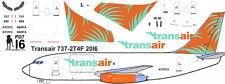 Transair Cargo Boeing 737-200 freighter decals for Airfix 1/144 kit
