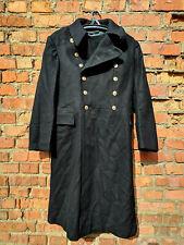 Navy Officer's Black Overcoat Size: L (50-4) USSR