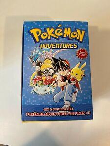 Pokemon Adventures Manga Box Set Volumes 1-7