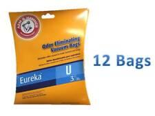 Eureka Style U Upright Vacuum Bags 12 Pack