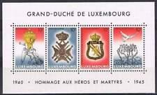 Luxemburg postfris 1985 MNH block 14 - Hommage aux Heros et Martyrs (S0668)
