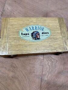 Warrior boxed vintage set of tap and dies engineering tools