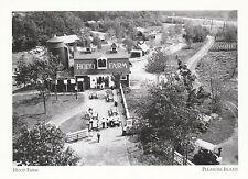 "*Massachusettes Postcard-""The Hood Farm"" @ *Pleasure Island (A326)"