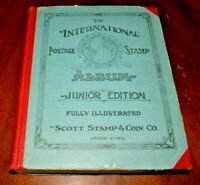 CatalinaStamps: Scott International Postage Stamp Album 1930 w/1500 Stamps, #D8