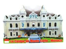 Monaco Casino 3 D Holz Souvenir Deluxe Magnet Frankreich Neu