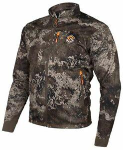Scentlok Savanna Crosshair Jacket Srata Camo  - Mens Size Medium