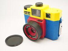 Neutral Density ND4 Filter and Lens Adapter Tube for Holga 120GCFN 120CFN 135BC