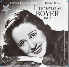 LUCIENNE BOYER vol 2 mon coeur est un violon CD (389) les etoiles de la chanson