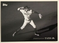 2020 Topps On-Demand Black and White Fernando Tatis Jr. #21 SP San Diego Padres