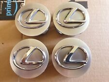 Set of Lexus IS220 IS200 IS250 62mm Alloy Wheel Centre Caps x4 Genuine Used Part