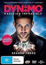 DYNAMO - MAGICIAN IMPOSSIBLE - SEASON THREE / 3 - BRAND NEW & SEALED 2-DISC DVD