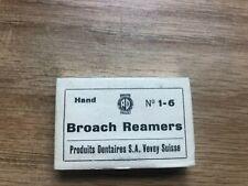 Broach Reamers Endodontics No1 6 Produits Dentaires Sa Vevey Suisse Vintage