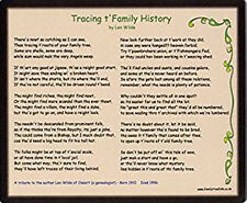 Family History Mousemat - Yorkshire Tribute