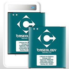 Caseology 2x 2600mah Battery and LED USB Wall Charger for Samsung Galaxy S4