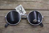 unisex John Lennon round metal frame uv400 lens vintage punk spring sunglasses