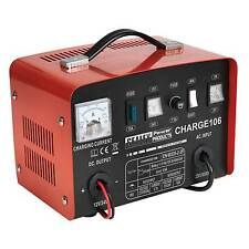 Sealey Battery Charger/Charging/Starter - 8Amp - 12/24V 230V - CHARGE106