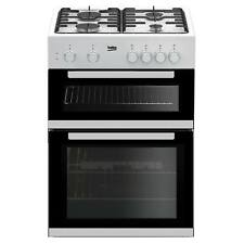 Beko KDG611W 60cm Double Oven 4 Burners Gas Cooker with LPG Option in White