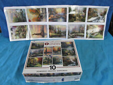 New ListingThomas Kinkade 10 Puzzle Collector'S Edition By Ceaco