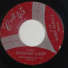 BARRY DARVELL: Geronimo Stomp USA Colt 45 Rockabilly R&B DC Hear