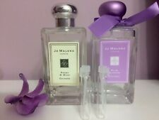 JO MALONE PEONY & MOSS, Plum Blossom, Sample 1,5m Non spray Lot of 2