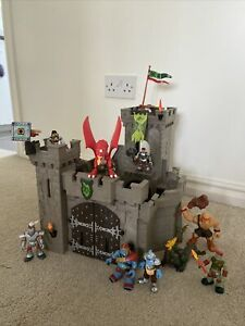 Castle Playset, Includes Various Knights And Dragons