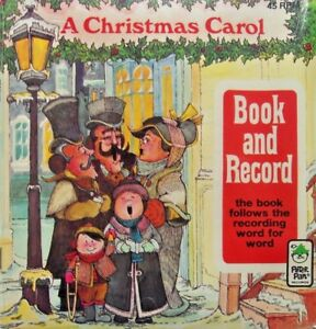 CHRISTMAS CAROL Dickens 1996 Peter Pan Read Along Book & Record Set New SEALED