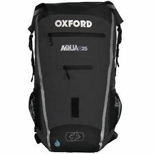Oxford Aqua B25 Backpack Black Waterproof Rucksack Motorcycle Motorbike Cycle