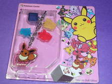 ot S2 Pokemon Center Lottery  Keychain Figure Vaporeon Jolteon Flareon Family
