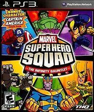 Marvel Super Hero Squad Infinity Gauntlet -- Sony Playstation 3 PS3 -- PERFECT