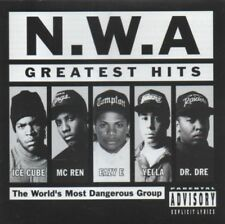 N.W.A. GREATEST HITS 20 trax Aussie Edition 1996 Dr.Dre EASY E ice cube EX COND